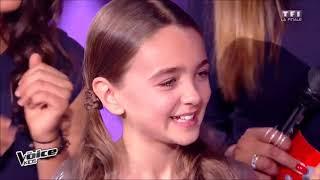 Angelina la grande gagnant de The Voice Kids 2017