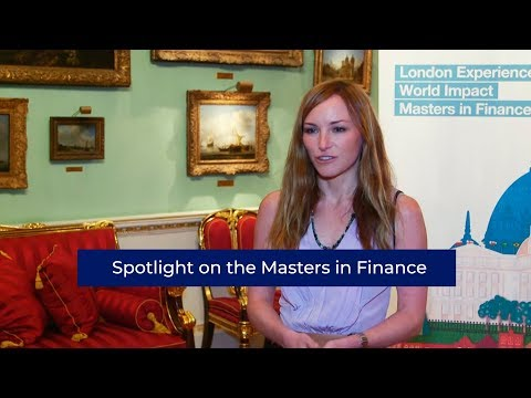 Spotlight on the Masters in Finance | London Business School