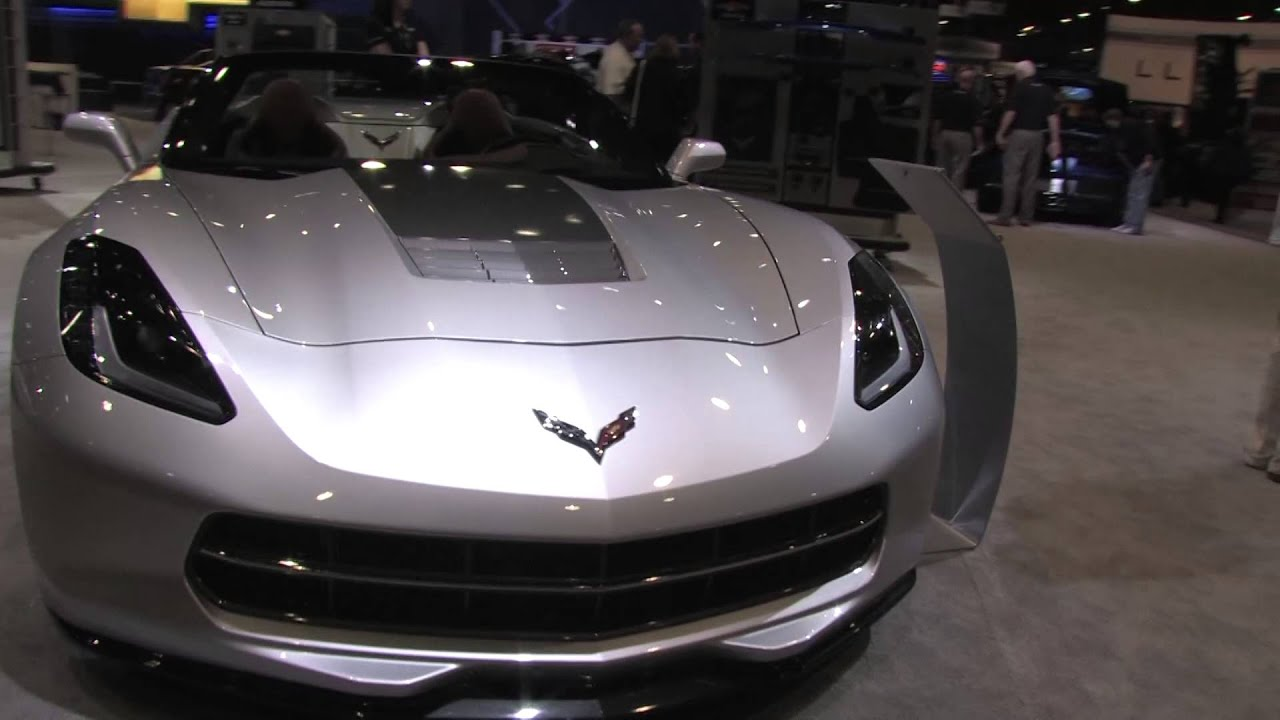 2014 Corvette Stingray Convertible Atlantic Concept  YouTube