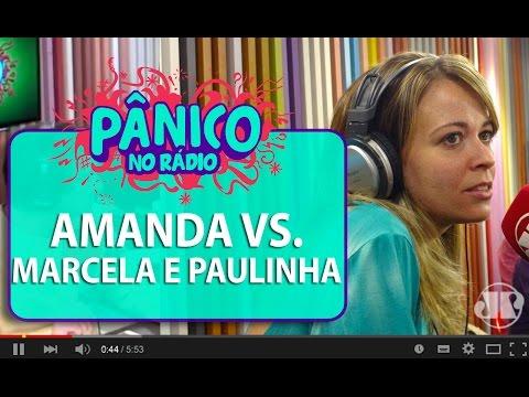 Amanda Ramalho vs. Marcela Tavares e Paulinha – (6 minutos de treta) - Pânico