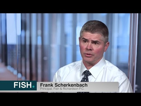 Principal, Frank Scherkenbach Discusses Working At Fish & Richardson