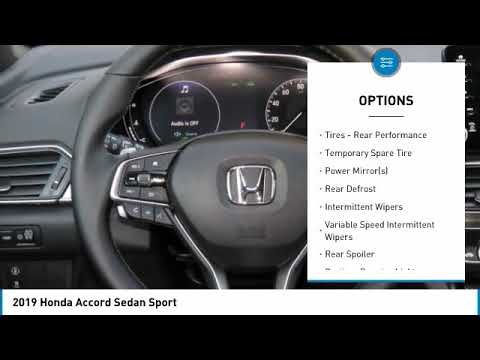 2019 Honda Accord Sedan AH191174