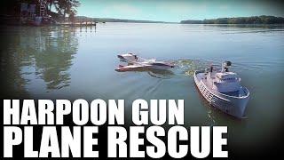 Flite Test | Harpoon Gun Plane Rescue