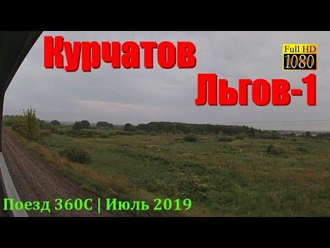 Курчатов — Льгов из окна поезда