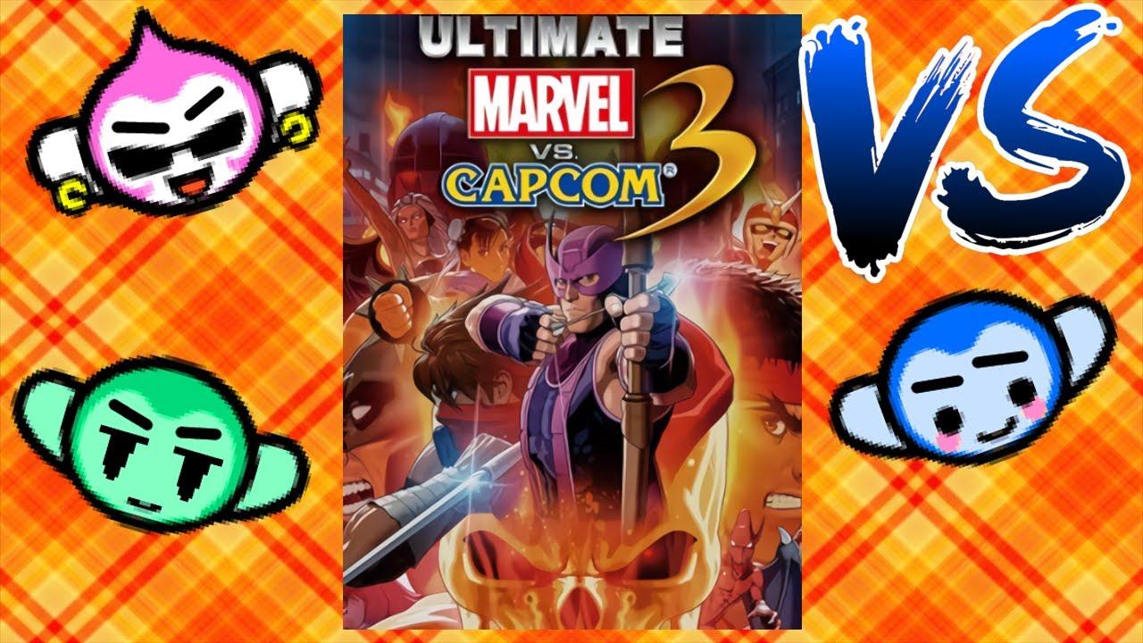 Random Versus 009 - Ultimate Marvel vs Capcom 3 - Round 2!