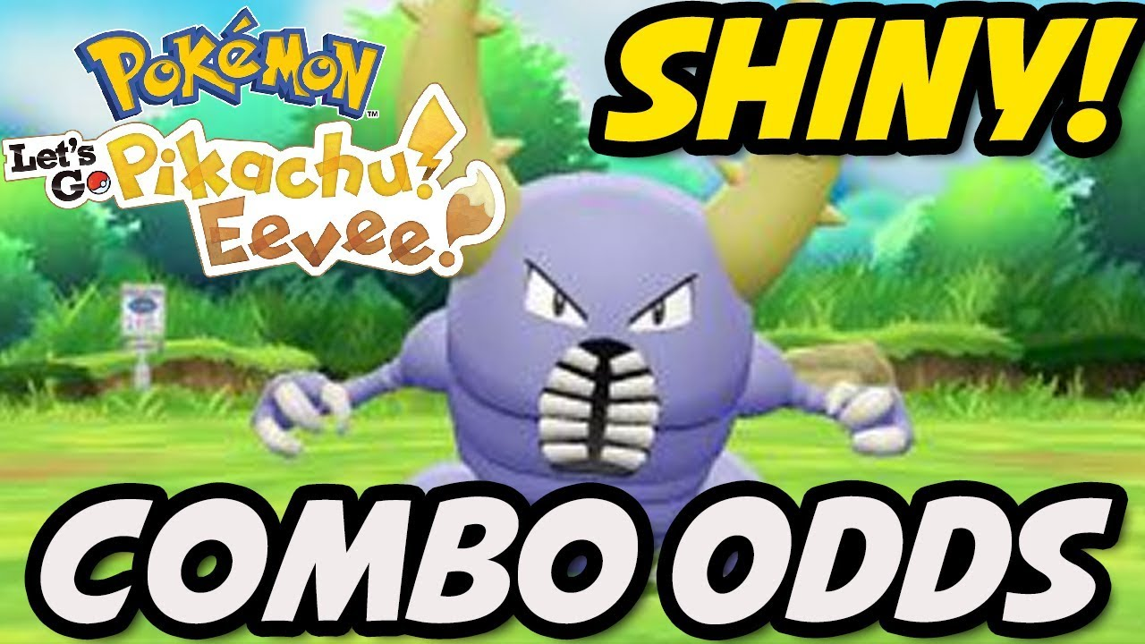 Pokemon Let S Go Shiny Catch Combo Odds How To Get Shinies In Pokemon Let S Go Pikachu And Eevee Youtube