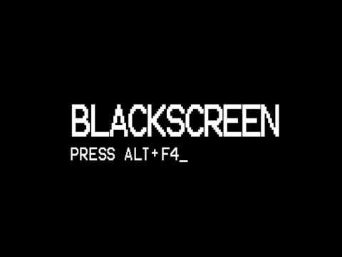Der Blackscreen song + Download 1 std version