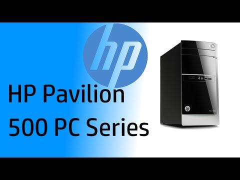 HP Pavilion PC (Model 500-424)