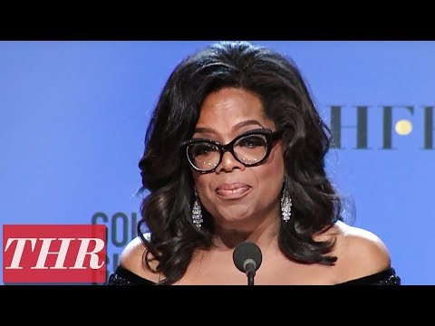 Oprah Winfrey: 2018 Golden Globe Cecil B. DeMille Recipient Full Press Room Speech  | THR