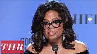 Oprah Winfrey: 2018 Golden Globe Cecil B. DeMille Recipient Full Press Room Speech    THR