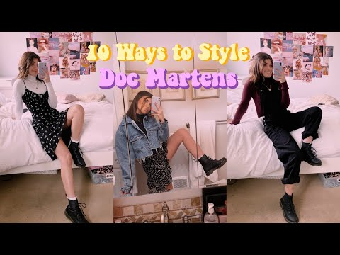10 Ways to Style Doc Martens / Winter Outfits