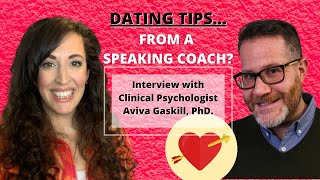 Dating Tips from a Speaking Coach