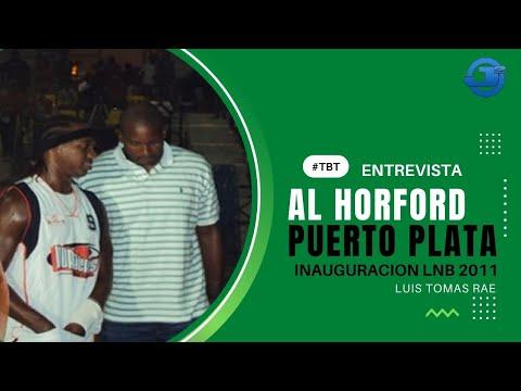 Entrevista con Al Horford en Puerto Plata