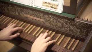 J.S. Bach: Sonate Nr. 2 für Violine und obligates Cembalo BWV 1015: Largo
