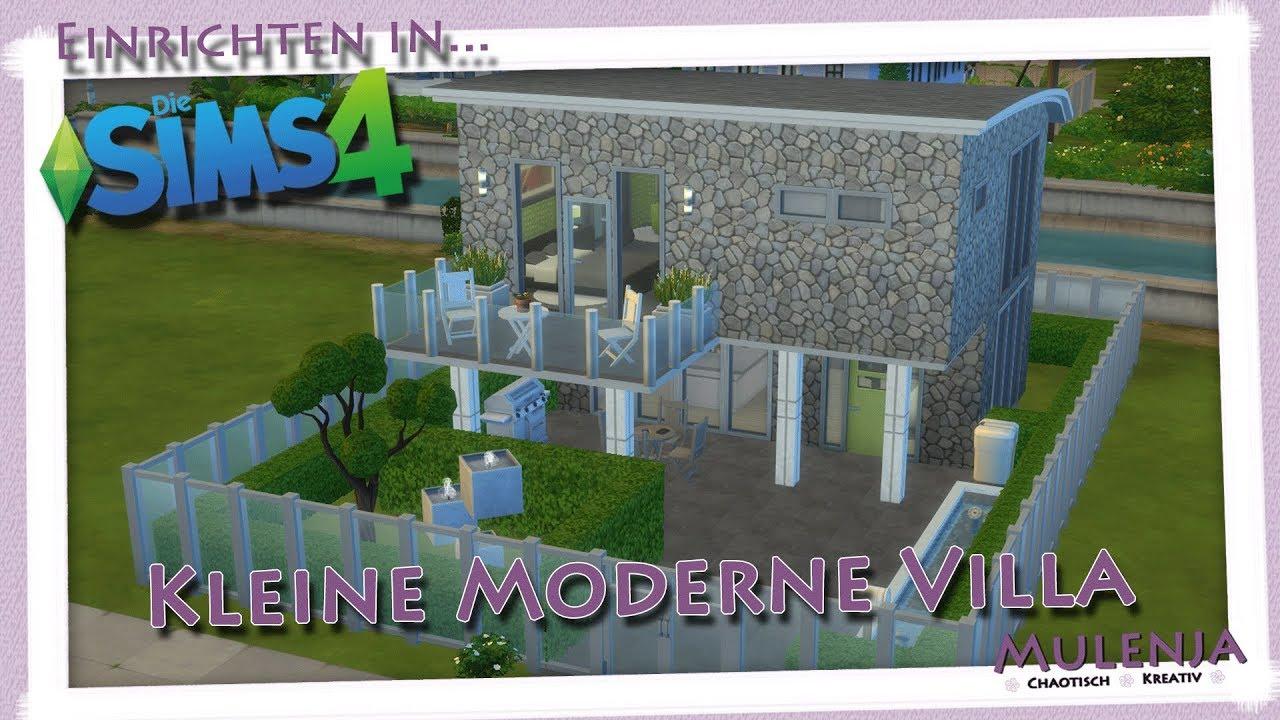 Einrichten In Die Sims 4   Kleine Moderne Villa | Speedbuild