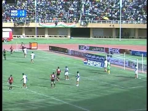 Niger-Egypte First and Second half 35' 70'