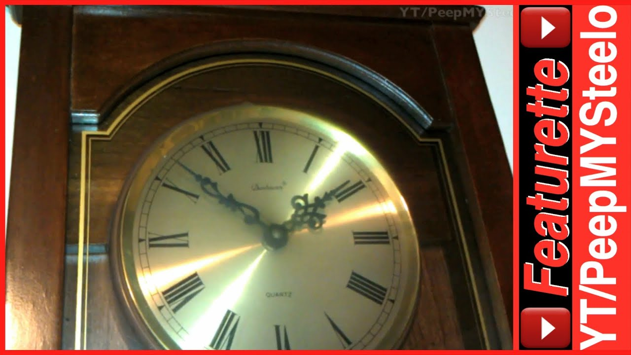 Wall antique grandfather clock w moving pendulum found for sale wall antique grandfather clock w moving pendulum found for sale no repair parts needed youtube amipublicfo Choice Image