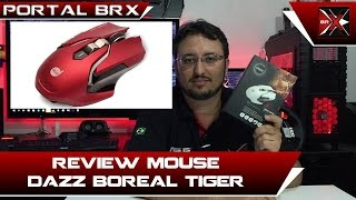 Review Mouse Gamer Dazz Boreal Tiger