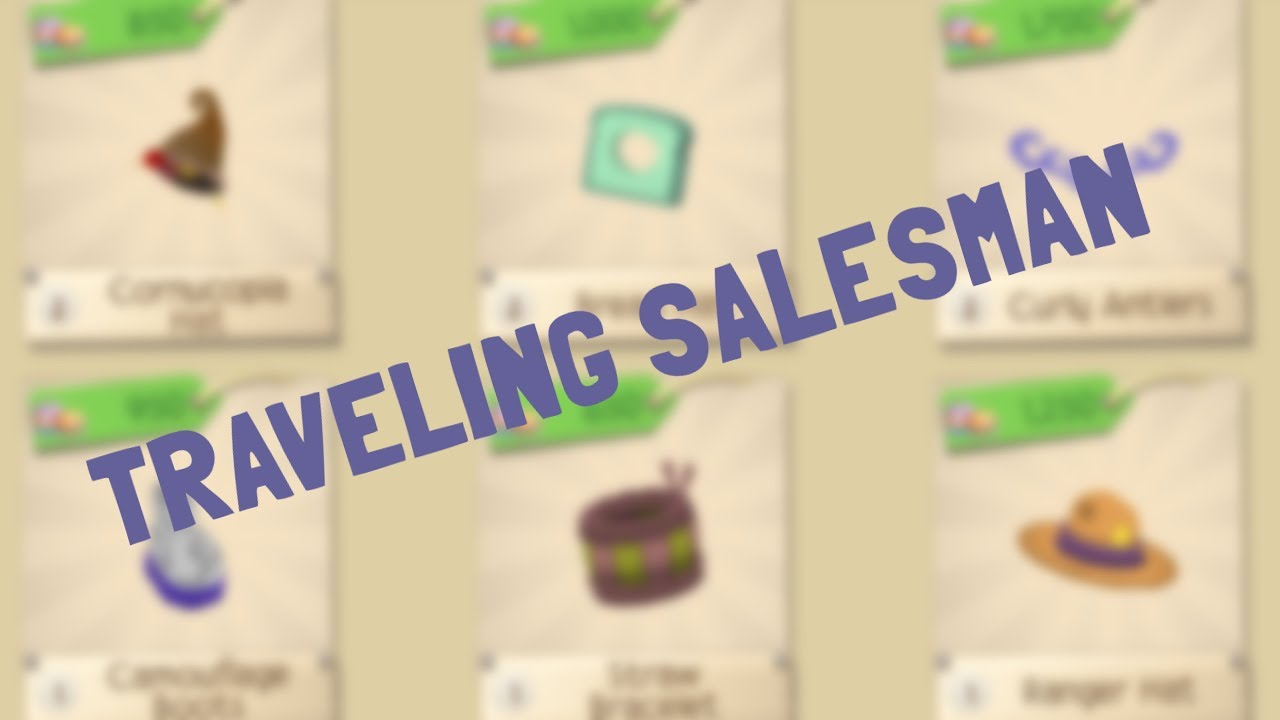 Traveling Salesman Returns With Non Members Only Items Animal Jam Play Wild