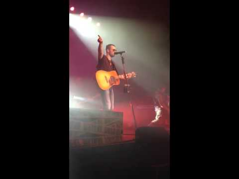 Eric Church - I'm Getting Stoned clip - Glasgow