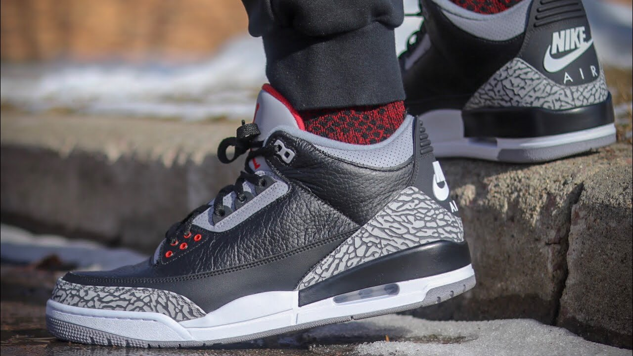 online retailer 3b986 1ba73 2018 JORDAN 3 BLACK CEMENT REVIEW! WITH ON FEET! WATCH BEFORE YOU BUY!