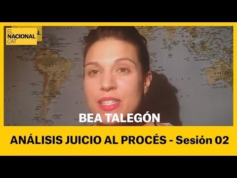 Bea Talegón   Juicio al procés (segunda sesión)