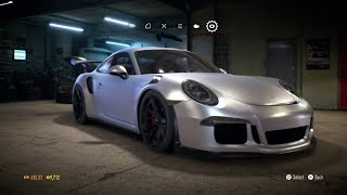 "Need for Speed 2015 - ""Porsche 911 GT3 RS"" - 870+HP Build !!! (Gameplay)"
