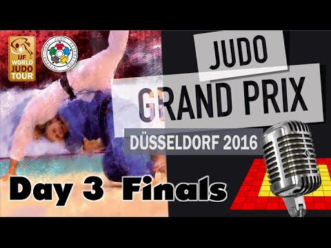 Judo Grand-Pix Düsseldorf 2016: Day 3 - Final Block