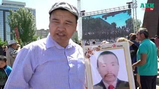 На площади Победы сегодня состоялся митинг-реквием