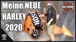 MEINE NEUE HARLEY- DAVIDSON IST DA! | Dans Moto | MotoVlog