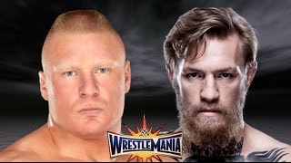 Brock Lesnar vs Conor McGregor Wrestlemania 33 Promo HD