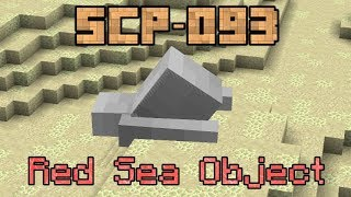 SCP-093 Minecraft Containment Test! - Red Sea Object