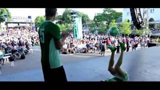 FodboldTricksTV - Freestyle Fodbold Show i Tivoli - Heineken Champions League Event