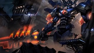 Skin Mecha Aatrox - League of Legends