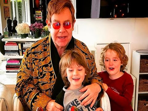 Elton John Will 'Never Retire' As He Celebrates His 70th Birthday With Sons - And A Host Of Celebs