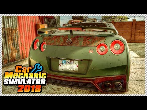 Car Mechanic Simulator 2018 - Junkyard Rescue Nissan GTR R35 | Ep. 6