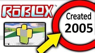 Top 5 OLDEST ROBLOX Games EVER CREATED