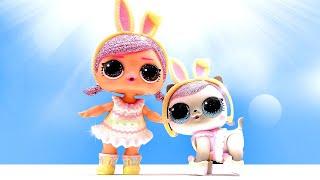 Видео игры для девочек - День Сияния! Ищем кукол ЛОЛ и Питомцев! – Видео распаковка LOL surprise