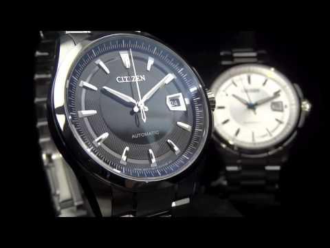 03672bfbb Citizen Signature Grand Classic Automatic - NB0040-58E watch reveiw -  YouTube
