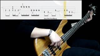 Rage Against The Machine - Bulls On Parade (Bass Cover) (Play Along Tabs In Video)