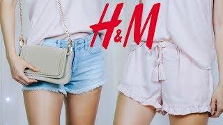 Покупки одягу H&M Літо 2017 | розпакування з приміркою | Базовий гардероб на літо