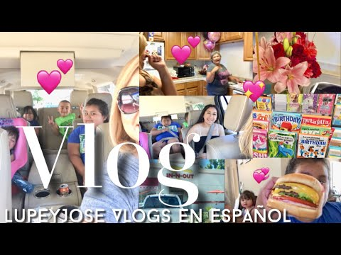 VISITANDO A MI MAMI VLOG- LupeyJose Vlogs En Español