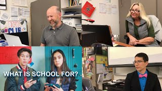 "TEACHERS REACT TO ""WHAT IS SCHOOL FOR?"" By Prince EA"