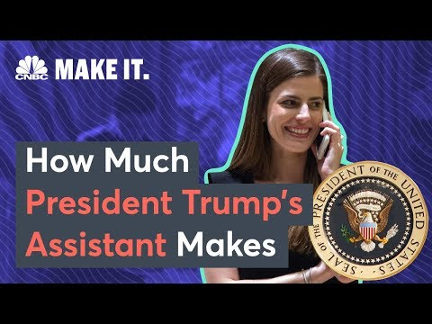 How Much President Trump's 27YearOld Assistant Makes  CNBC Make It.