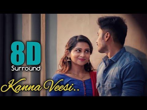Download Kanna Veesi 8D | Kadhal Ondru Kanden | Siddhu Kumar | Rahul Hariharan | Shreenisha | 8D BeatZ