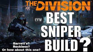 The Division - 1 SHOT Deadeye hybrid 1.8.2!! Is it the BEST sniper PVP build?