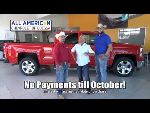 lower your payments with all american chevrolet of odessa youtube. Black Bedroom Furniture Sets. Home Design Ideas