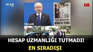 Kılıçdaroğlu'nun yalanı elinde patladı