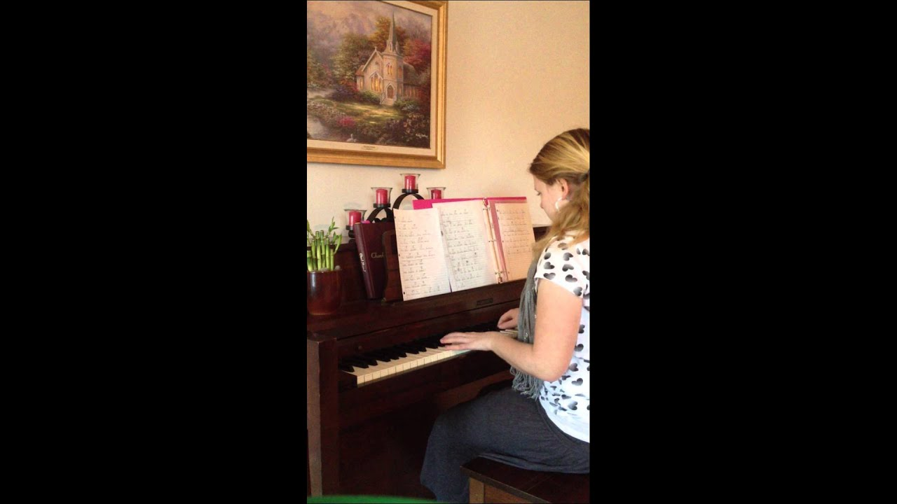 Owl City In Christ Alone Piano Cover Chords Youtube