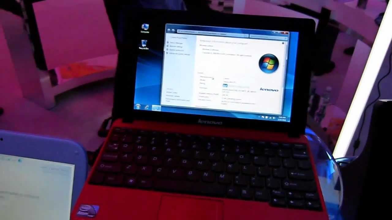 Lenovo IdeaPad S100 10.1 inch Netbook (Intel Atom N455 1.66GHz ...